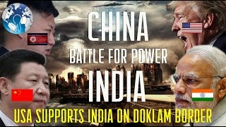 USA Supports INDIA on Doklam CHINA issue and Getting Ready for North Korea