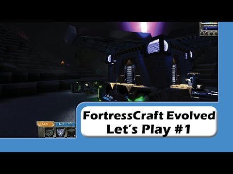FortressCraft Evolved - Let's Play #1 - What Are Those!?
