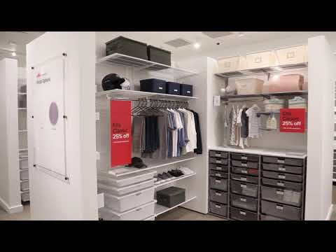 The Container Store Sets Its Sights On Custom Closets With New Concept Store
