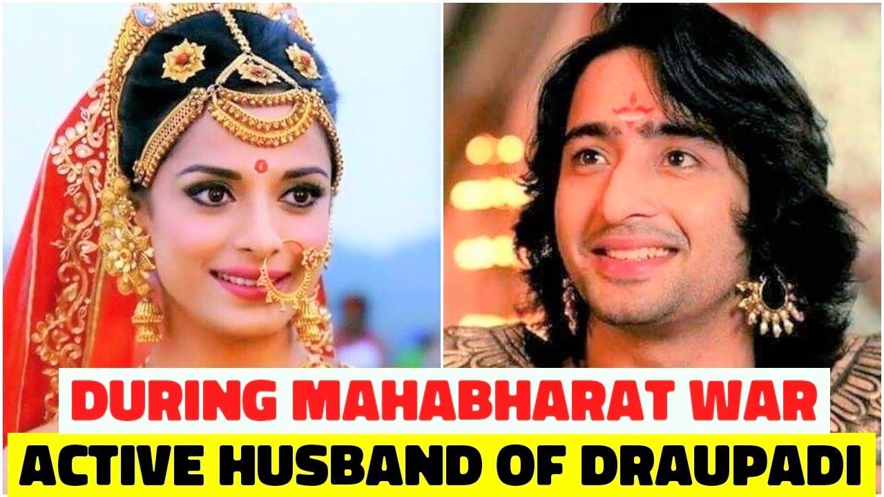 Who Was The Active Husband of Draupadi During Mahabharat War