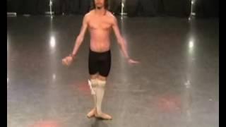 Антон Савлепов на кастинге в балет Quest