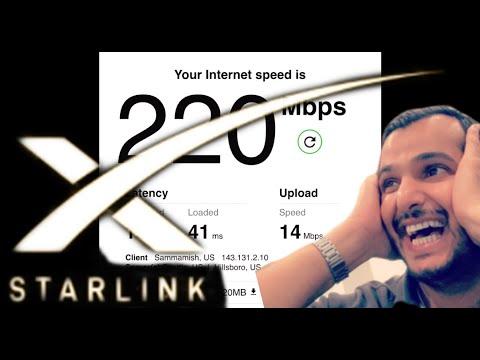 Starlink close up shots + setup and installation + internet speed tests