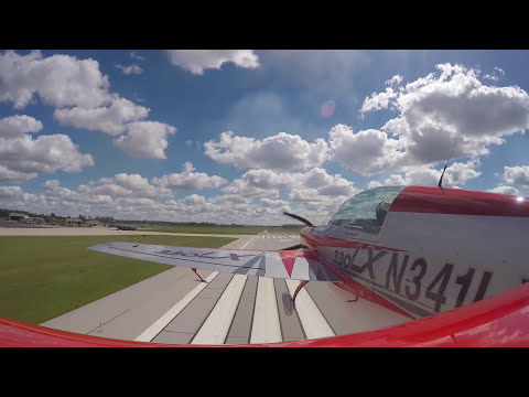 Patty Wagstaff Ride Along - Tail Mount - Ft. Wayne Indiana Airshow 2016