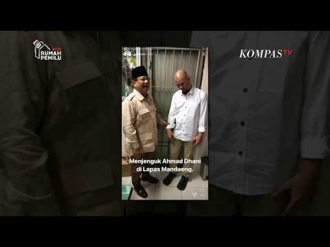 Prabowo Jenguk Ahmad Dhani di Lapas Medaeng Mp3