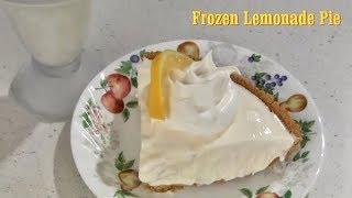 Frozen Lemonade Pie Dessert Recipe
