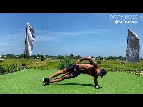 DIRTY DOZEN No Equipment Home Workout