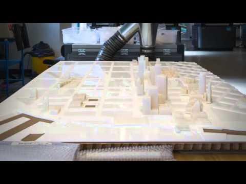 Making Of   3D Printed Model Of San Francisco