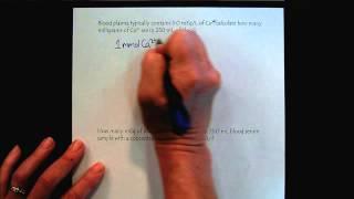 Chem 309 Solutions & Membranes Part 5 Equivalents