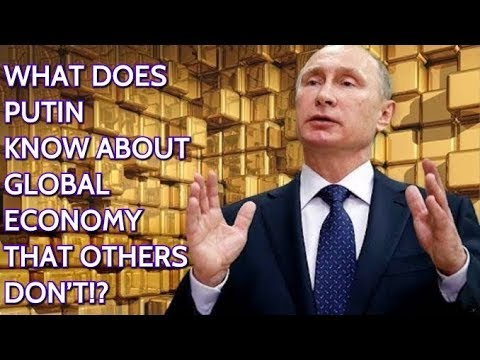 Russia Keeps Increasing Its Gold Reserves! Dedollarisation Or Incoming Financial Crisis?