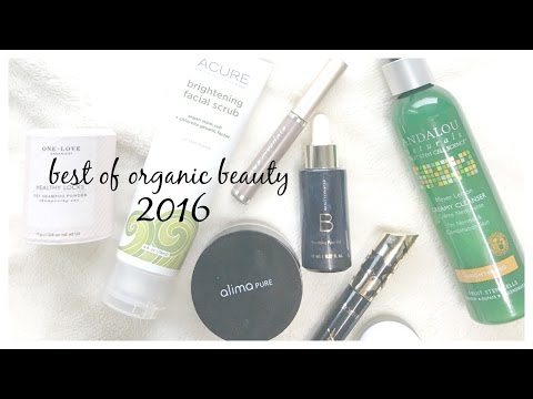 Best of Organic/Non-Toxic Beauty 2016