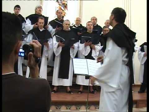 01.- Canto Gregoriano. PUER NATUS IN BETHLEHEM.