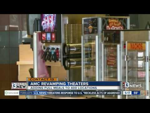 AMC Theatres Planning More Food For Theaters