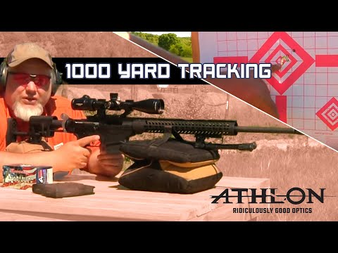 Athlon Argos BTR 6-24X50 Rifle Scope on Ruger Precision Rifle Tracking to 1000 Yards