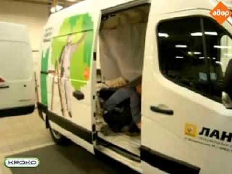 Установка реечного привода «Кроко» на автомобиль Renault Master