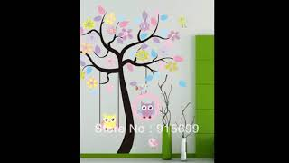 Nursery Wall Decor - Baby Nursery Wall Decor Ideas | Home Interior Wall Decor & Design