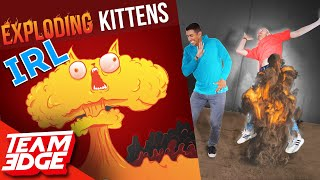 Exploding Kittens in Real Life!!