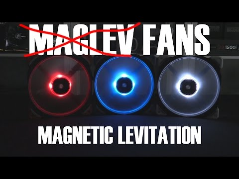 Corsair ML120 and ML140 Magnetic Levitation Fan Review