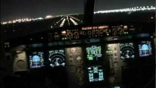 A340 very smooth landing at Kuwait City