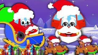 圣诞老人从烟囱下来   圣诞歌曲   节日歌曲   Santa Claus Coming Down The Chimney   Kids Christmas Song   Song For Kids