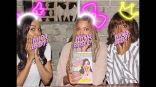 Kelly Rowland promotes #WOAHBABY   book, with HOT #DestinysChild members #Beyonce Knowles & Michelle