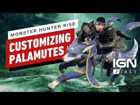 Customizing Monster Hunter Rise's Palamutes - IGN First