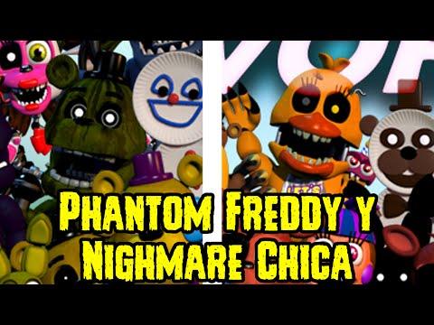 Nuevo Five Nights At Freddy's World Teaser | Phantom Freddy y Nightmare Chica | FNAF World