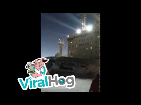 Nuclear Powered Icebreaker Ship || ViralHog