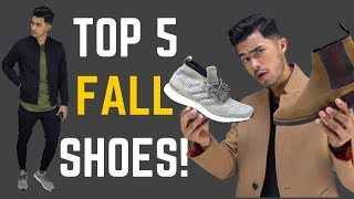 Top 5 Shoes You Need for Fall/Winter