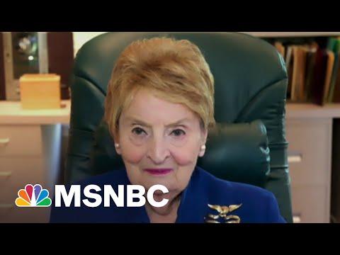 Fmr. Secy. Albright: Biden-Putin Summit Was The Beginning Of A Process