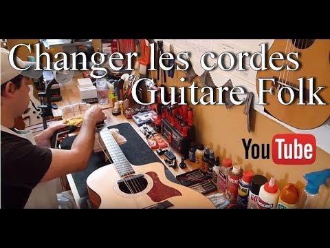 🎸 Atelier Guitare : Comment changer les cordes d'une Guitare Folk ?