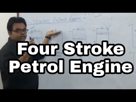 Four Stroke Petrol Engine by Sanjeev Sir