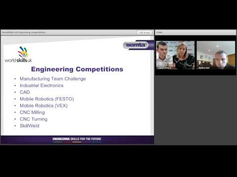 Semta webinar: WorldSkills UK Engineering Competitions 0 0v4