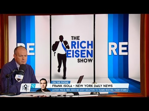 Frank Isola of The New York Daily News Talks Knicks, NBA Players Sitting & More - 4/11/17