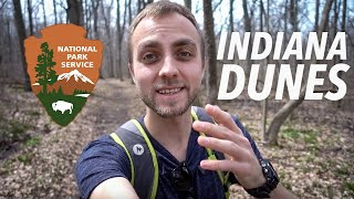 FIRST HIKE OF THE YEAR! Indiana Dunes Nature Trails (Sony RX100V vlog test)