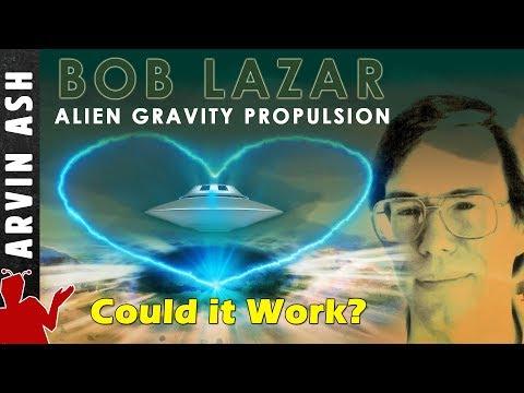 Bob Lazar: Area 51, Element 115 Alien Gravity Propulsion - Could it work? Fluxliner