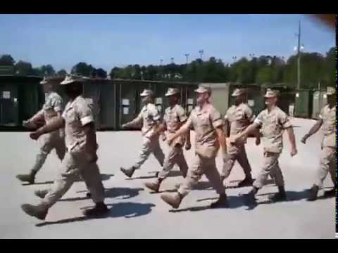 US Marine Corps  Marching Cadence