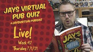 Virtual Pub Quiz, Live! Thursday 7th January