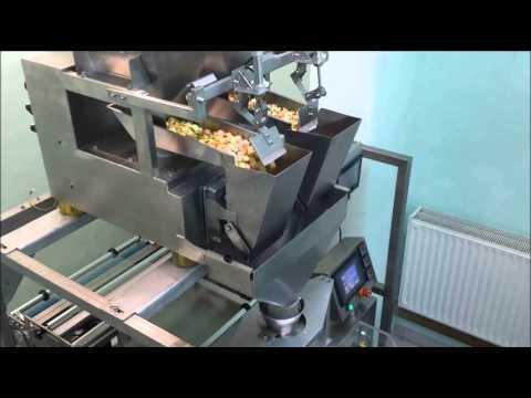 Linea para envasado de palomitas de maiz