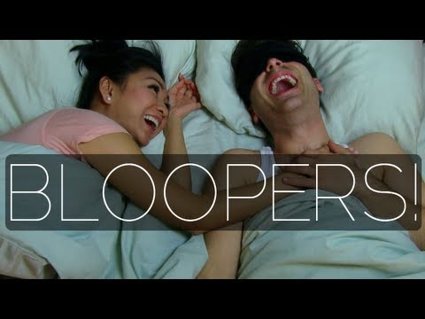 BLOOPERS! How To Make A Man Propose
