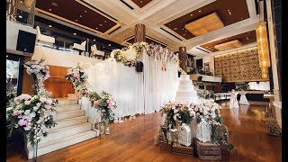Intimate Wedding at Volti restaurant & bar Shangri La Bangkok