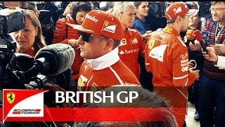 British Grand Prix - British GP so far… Forza Ferrari