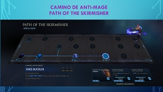 Dota 2 Guia del Camino de Misiones de Anti Mage Winter 2017 Battle Pass