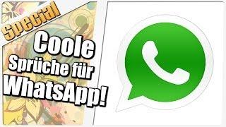 Bilder coole lustige whatsapp Coole Sprueche