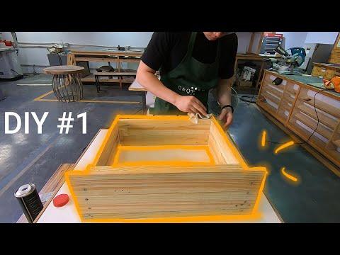 DIY#1   Học nghề mộc và những trải nghiệm đầu tiên