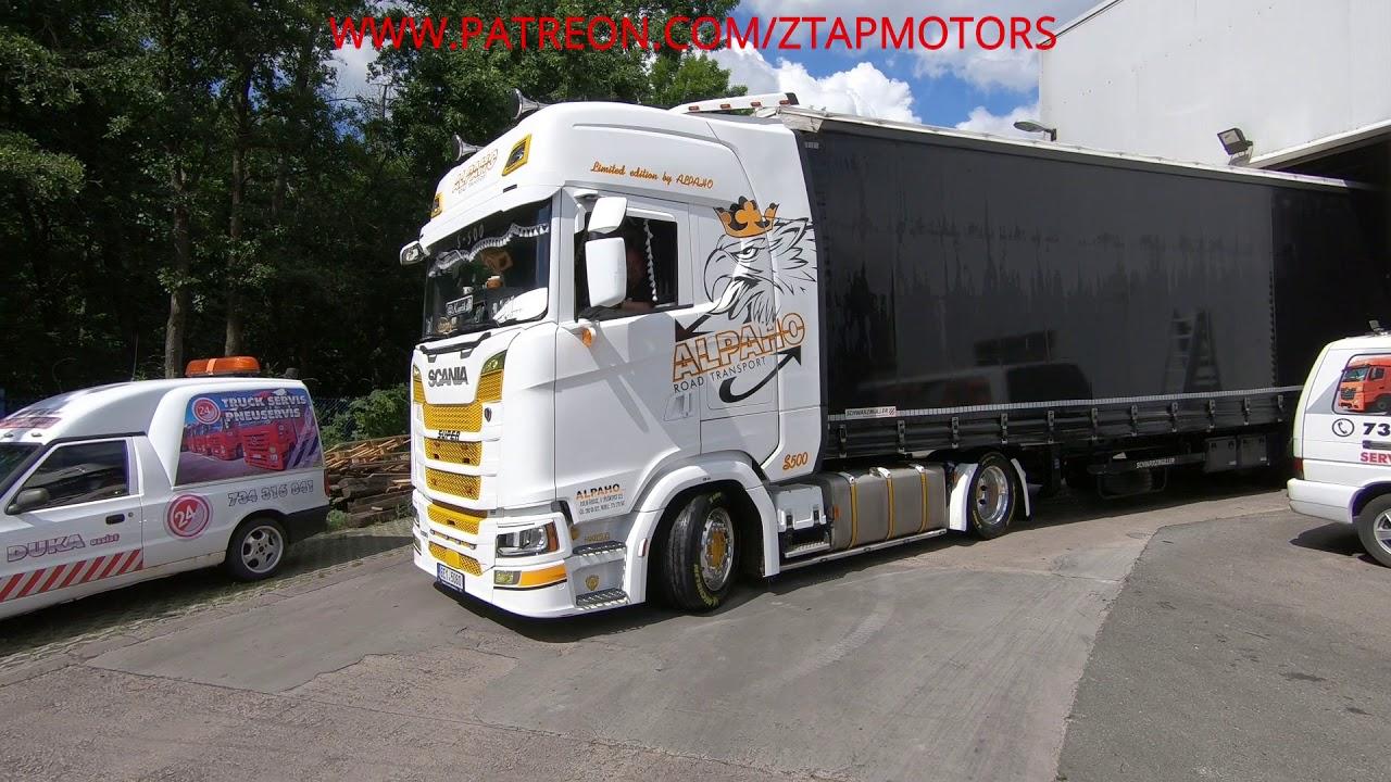 Servis, SCANIA S500, VIP hosť smeruje na východ (SK/CZ) /TRUCK VLOG/ #10.05