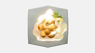 【ちょびっとASMR】夜更かし芋のポテトボール【Roland CS-10EM】