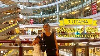 Best Shopping Mall Kuala Lumpur: 1 Utama Walking Tour Biggest Shopping Mall Malaysia