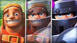THE SECRET IDENTITY OF THE MEGA KNIGHT REVEALED! (Builder) | Clash Royale