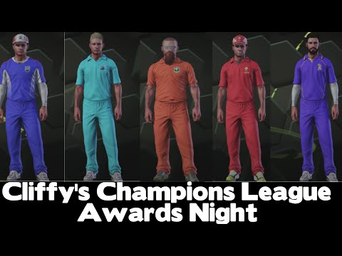 Cliffy's Champions League - Season 1 Awards Night