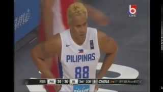 Gilas Pilipinas 3 0 vs Iran 2nd Quarter Round 2 FIBA Asia Championship September 28,2015